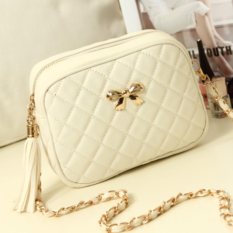 Сумка Корейский весной 2014 ромбические новый лук цепи мешочек одной диагонали плеча сумочку мешок дамы моды бум