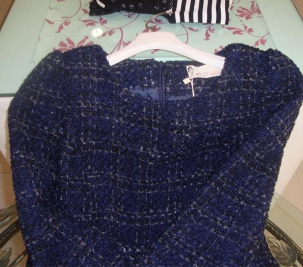 Женское платье L0001 2013 Зима 2013 Шерсть