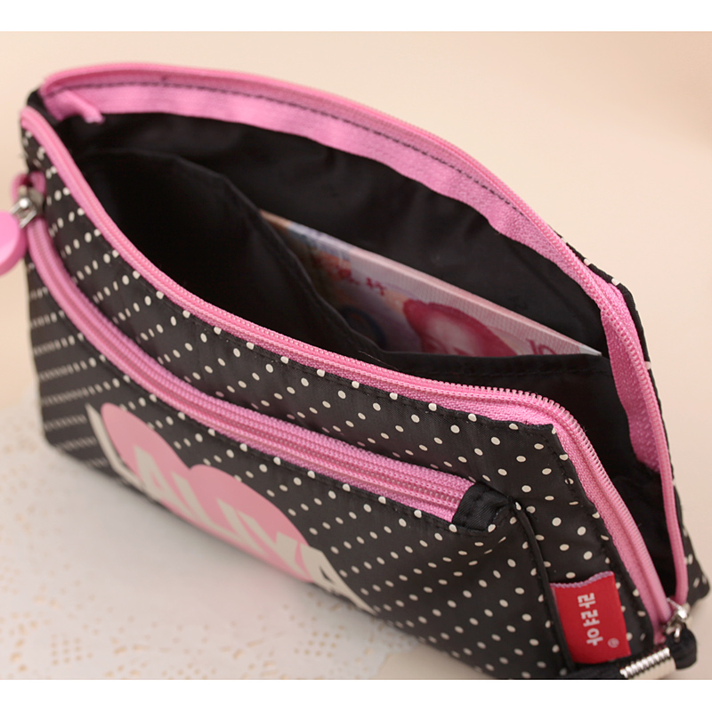 OCS Version of the new cosmetic bag sweet nylon handbag bag fashion hand Lady in lovely hands Pack