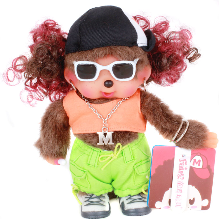包邮费童话玩具 正版蒙奇奇 情侣娃娃公仔20cm成人版15款进入挑选