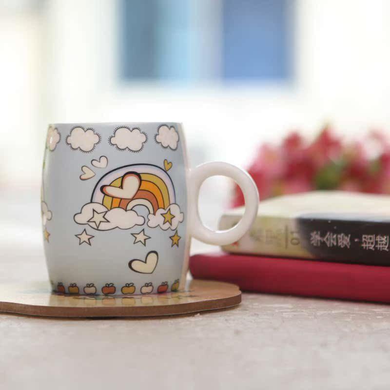 卡通陶瓷杯 家居用 情侣对杯  咖啡杯 水杯 奶杯 包邮