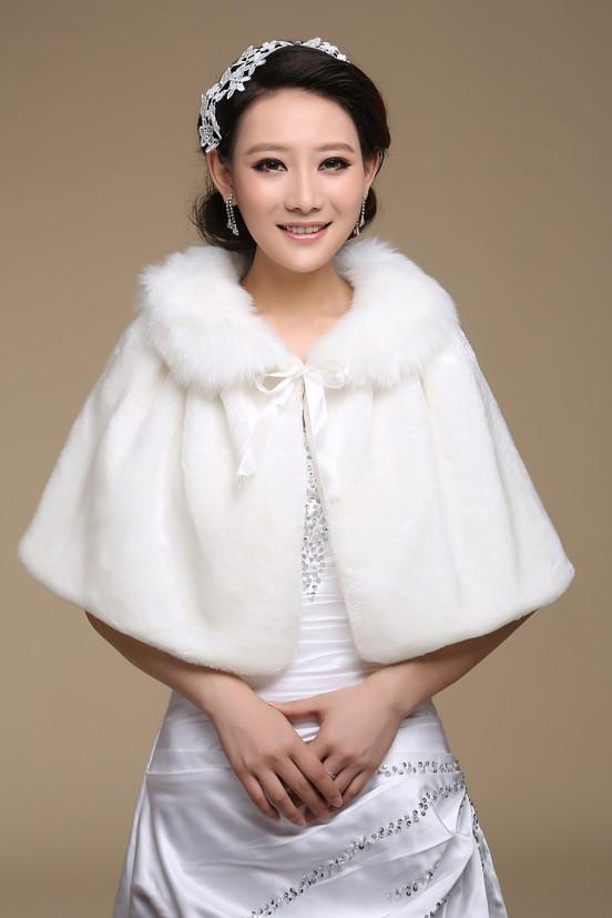 шарф Новые Добро Свадьба Невеста мыса платок пальто теплая зима белые свадебное платье cheongsam шерсти шали