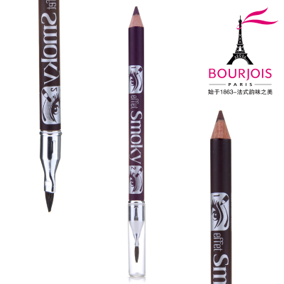 Brand authorization Authentic smoked BOURJOIS Bourjois makeup waterproof eyeliner is not blooming pearl stud