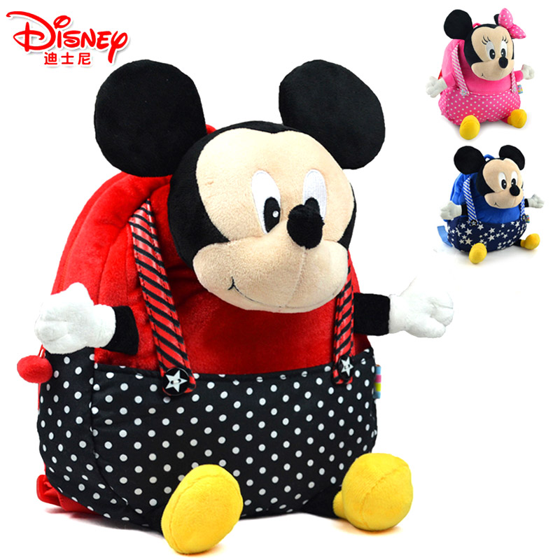 Authentic Disney cartoon Mickey kids baby children kindergarten school bags schoolbag for men and women