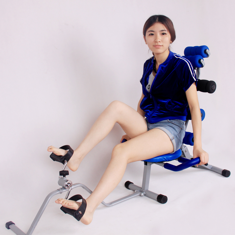 Genuine AD ABS machine fitness equipment home abdominal crunches weight loss equipment lazy exercise strengthening abdominal machine