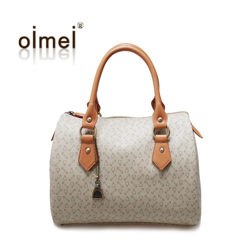 Сумка Oimei 123d Oimei2013 Девушки Женская сумка Геометрические узоры Пвх