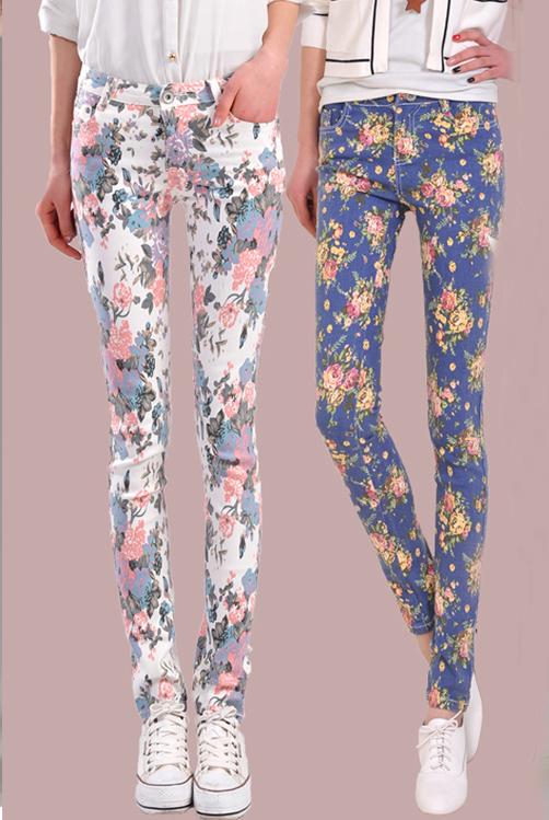 新款韩版女小脚铅笔裤