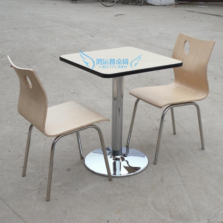 Стол обеденный Фабрика прямой покрытие быстрого питания KFC KFC таблицы и стулья столовой таблицы Ресторан обеденные столы и стулья hy36 Современный китайский стиль Квадратная