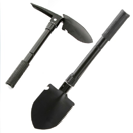 Multifunctional engineering unit scoop rescue shovel Germany camping shovel folding Sapper shovel emergency shovel small outdoor protection