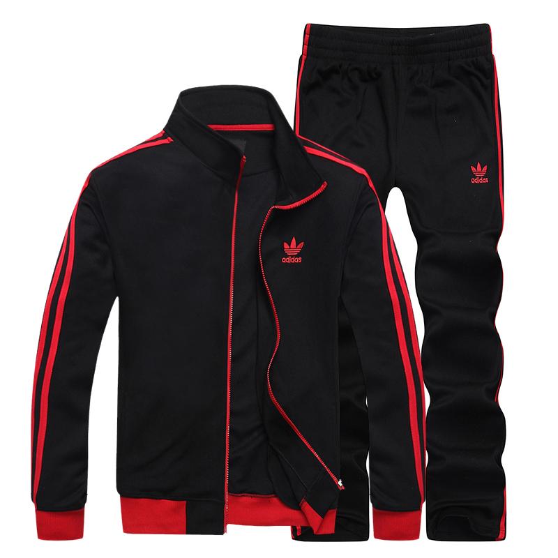 2013adidas阿迪达斯正品运动服 时尚休闲健身运动套装图片