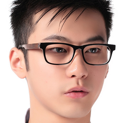 Rosewood leg black frame glasses frame myopia glasses fashion business eye glasses eyeglasses frame men Lady