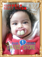 The authentic BILLY BOB buckteeth spoof calm FREE BPE pacifier parents necessary package mail after 8090
