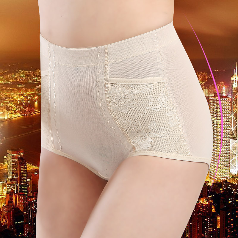 4 bag mail in the high waist abdomen trousers ultra-thin breathable received belly waist woman postpartum shaping pants 2404