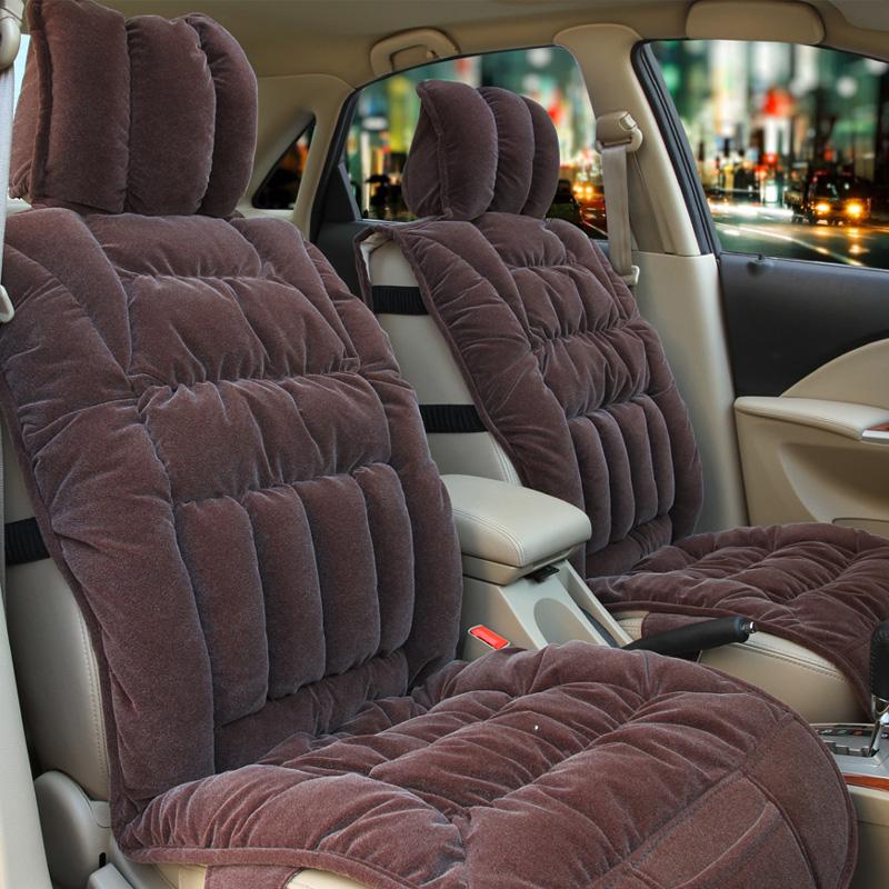 Авточехлы зимние Хань Xin зимний автокресло автокресло новых короткий плюш Коврики Авто аксессуары зимняя автокресло