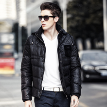 Men aoriwei winter coats male eiderdown outerwear detachable mo han edition men tide down jacket coat of cultivate one's morality