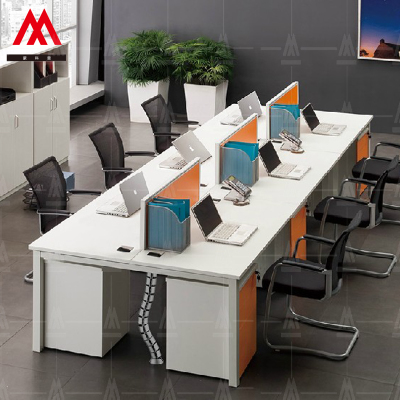 Shanghai train station office furniture minimalist table negotiation table conference table conference table desk staff tables competent