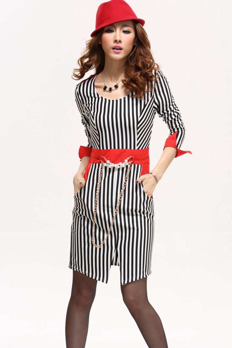 2013秋季新款长袖女装时