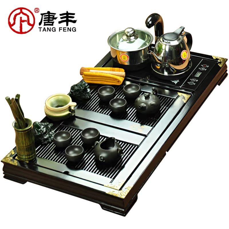 Набор для чайной церемонии Tang Feng SC/306 SC-306 Бамбук На 6-х человек Глазурь с разводами