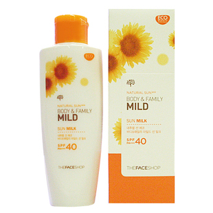 Солнце The face shop  SPF40PA+++