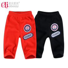 Baby clothes baby clothes sack pants bottoming Korean men and women casual pants newborn spring summer paragraph B