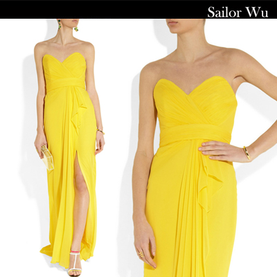 Вечерние платья Sailor wu 323 2013 Sailor wu