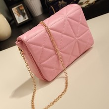 Korean version of the 2013 new lozenge chain bag retro shoulder bag diagonal female bag bag tide