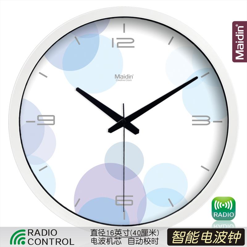 Цвет: Радиоуправляемые часы 16-дюймовый белый-050