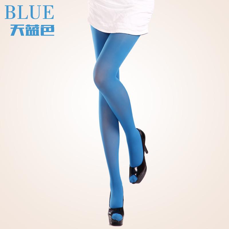 Цвет: Небесно-голубой колготки