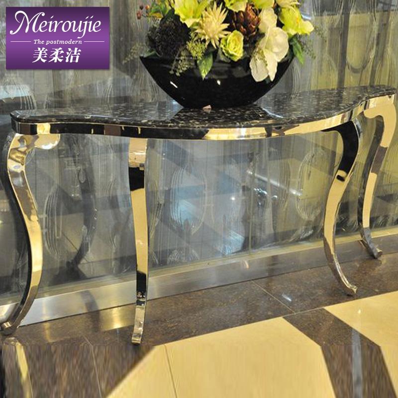 美柔洁 欧式新古典玄关台 铁艺玄关桌 沙发背几 边几边桌2013新款