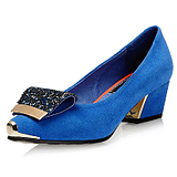 2013 new spring and summer women&#39;s singles shoes with thick dermis with Europe and the United States fashion casual <span class=H> </span> <span class=H> Shoes Rhinestone metal head </span>