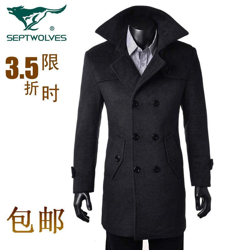 Пальто мужское The septwolves 8259