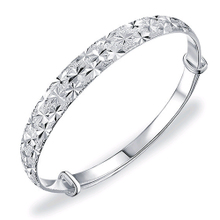 999 fine silver bangle bracelet Starry bracelet female Korean female fashion silver bracelet jewelry