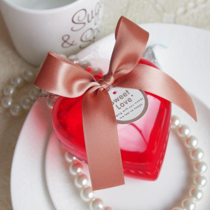 特价促销 2013新品 创意欧式结婚喜糖盒子 大红心形糖果盒