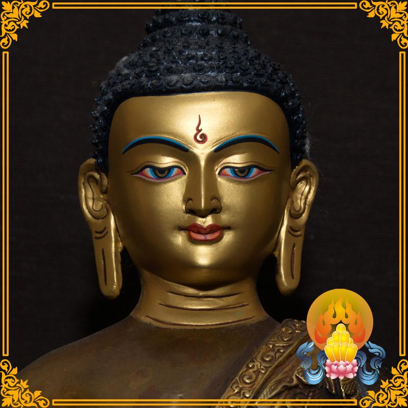 Изображения Будды, Статуи божества Статуи Будды Амитабхи вручную в Непале может нести 10-дюймовый позолоченными бронзовыми тибетских буддийских HD дисплей