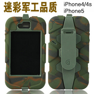 Apple чехол Griffin Survivor Iphone4/4s Iphone5 Griffin Силиконовый чехол