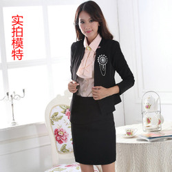 Korean style long sleeve small suit jacket slim