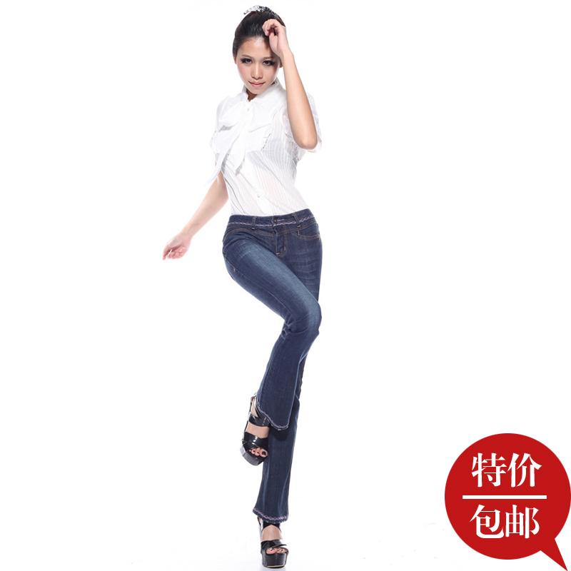 Джинсы женские Леди Осень 2013 Новый корейский себя тонкий микро Раман женщин джинсы брюки джинсы мигает женщин