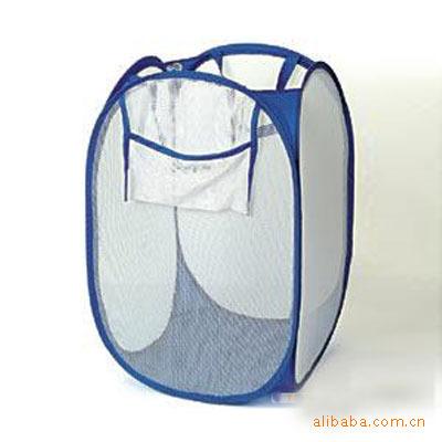 日用品创意家居用品 白网脏衣篮