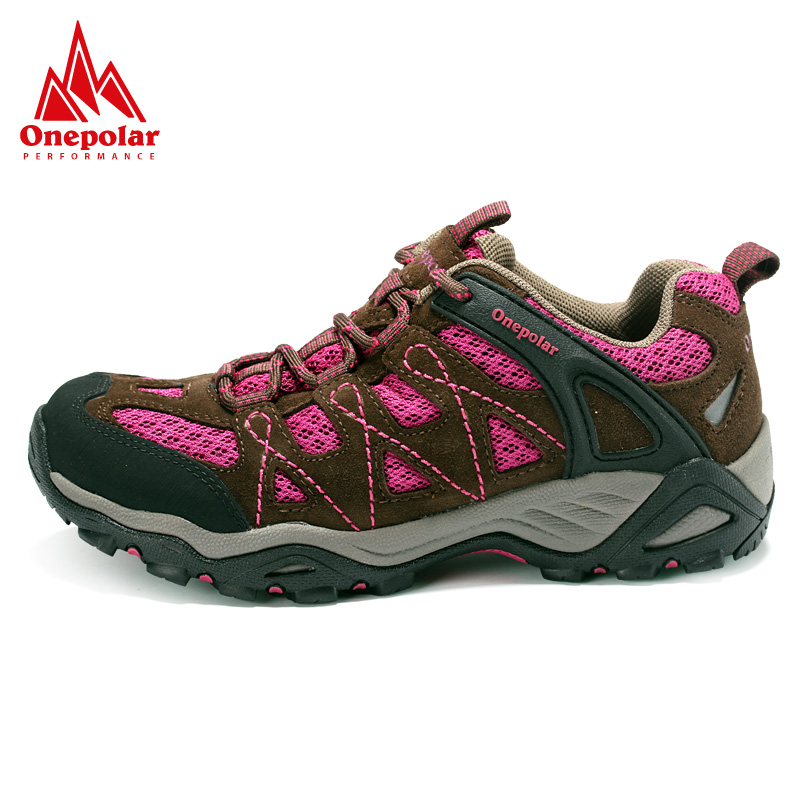 Spring/summer onepolar polar couple outdoor non-slip walking shoes men breathable hiking shoes women