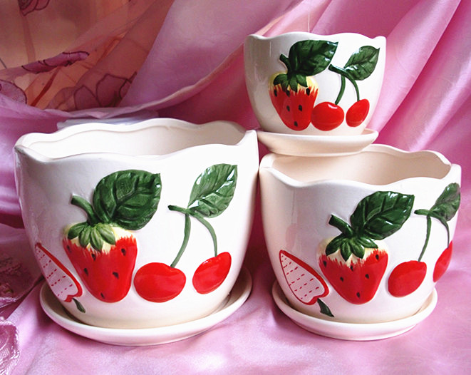 Цвет: Strawberry planter
