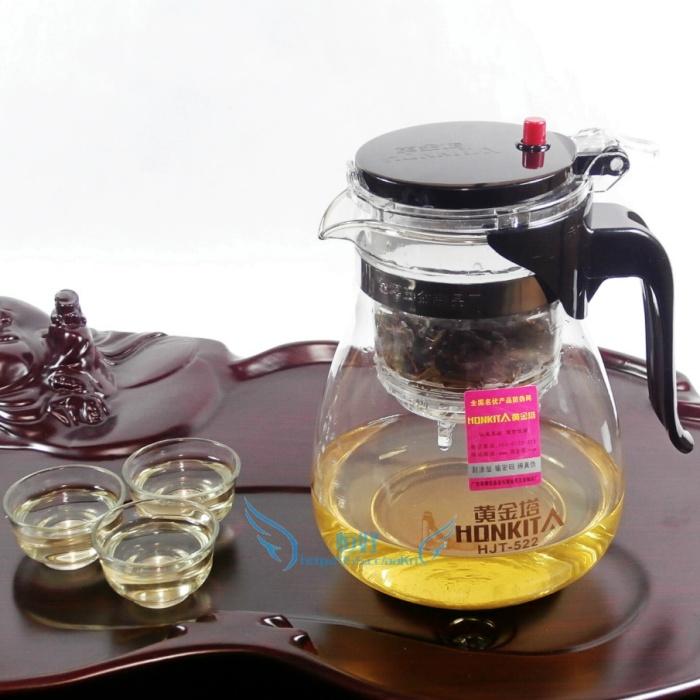 Заварочный чайник с фильтром Gold Tower 522 800 мл и более