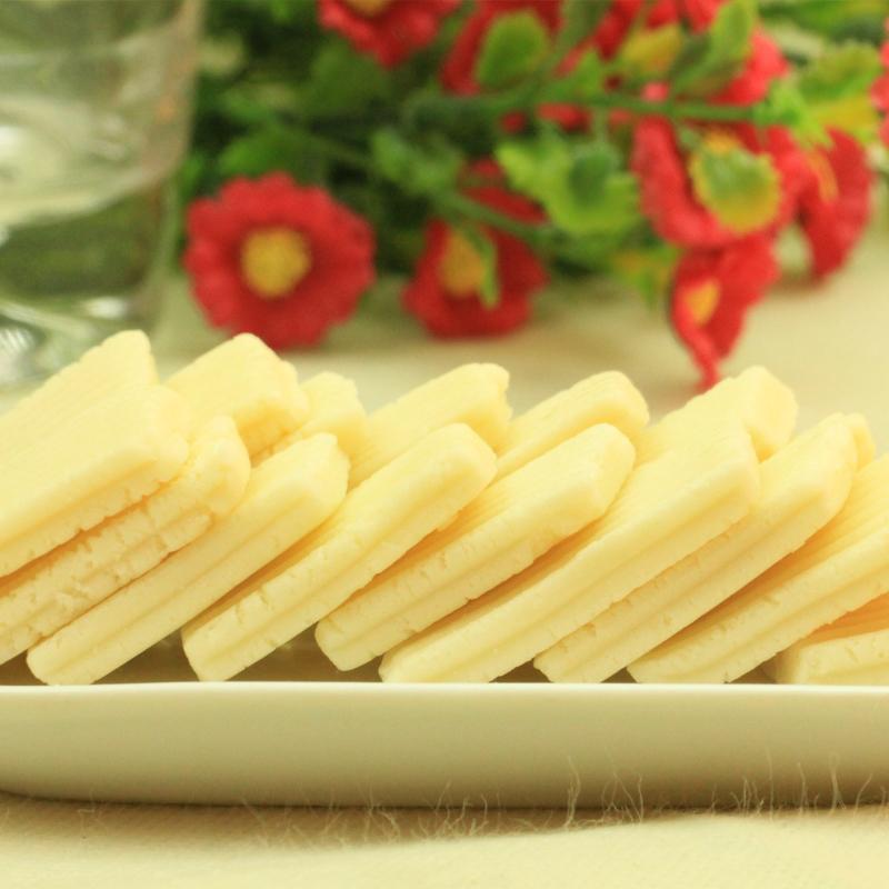 9元包邮-内蒙古特产零食 草原旭日软酪乳 酸奶味奶酪135g