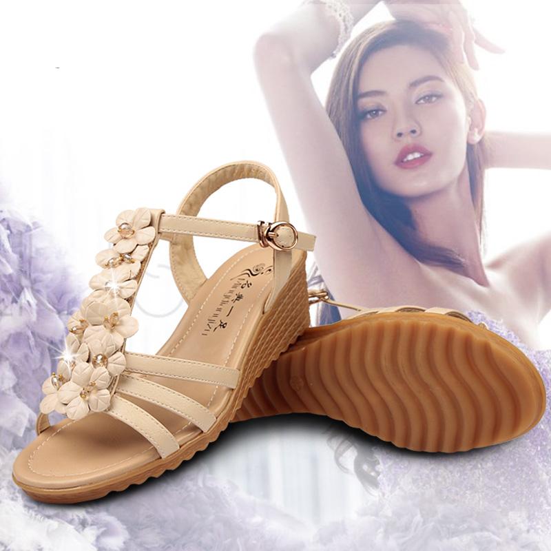 凉鞋女平底鞋仙女