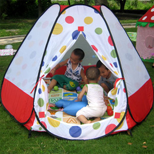 Portable magic children's tent International Children ' s Day gift Baby Super game House marine ball pool toy