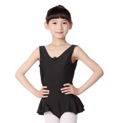 Falling sports flagship store redrain children plus piece dress children practicing ballet skirt