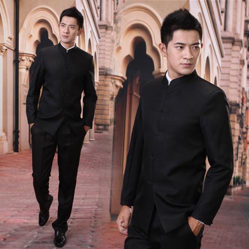 Национальный костюм Love according to the poem wedding zsz001 Китайская туника в стиле Мао