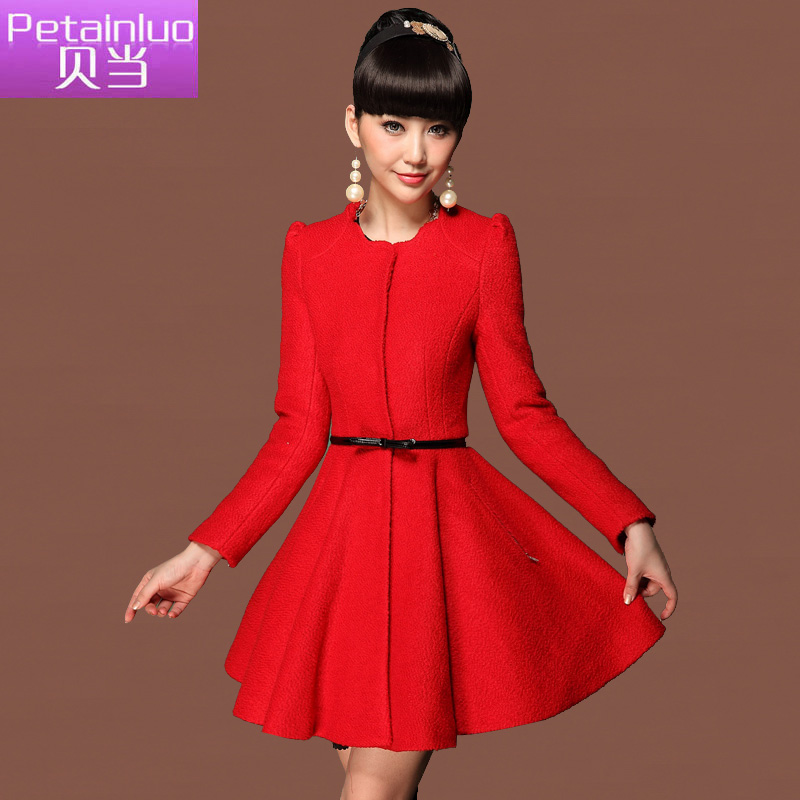 Petainluo 2013 new women 39 s clothing woolen jacket coat for Womens dress jacket wedding