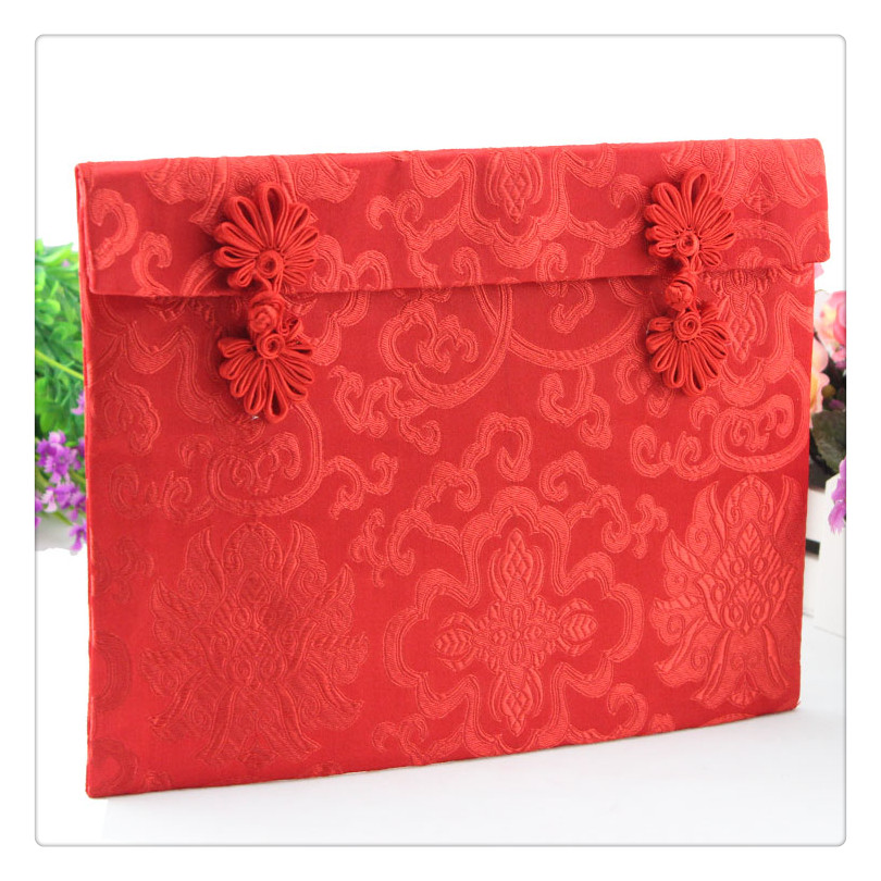 特大红包(6~10万元) 利是封喜庆结婚红包超大万元 聘礼 绸缎红包