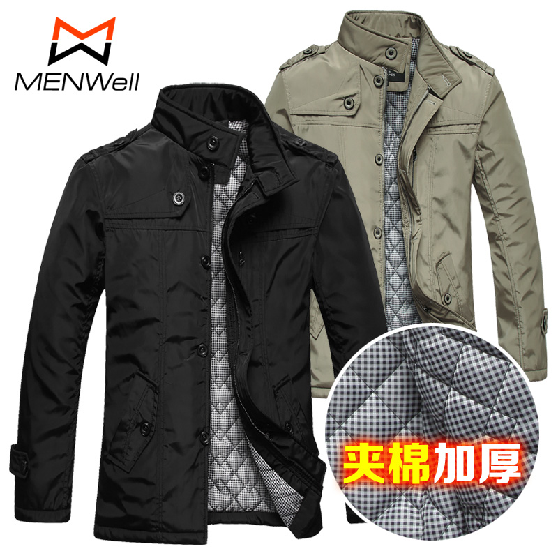 Clearance sale-mail winter men's jacket coat men's Korean Edition men s cotton slim leisure suits men thick padded jacket
