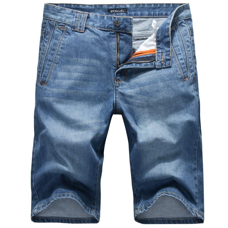 Джинсы мужские Ekecel 3093 2013 Классическая джинсовая ткань 2013